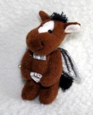 Handyanhänger Schutzengel Pferd mit Herz