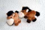 Mini-Plüschanhänger Pferd