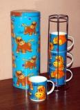 Tassenhalter-Set 6-teilig
